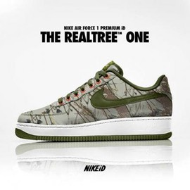 Nike - NIKEiD AIR FORCE 1 PREMIUM LOW REALTREE