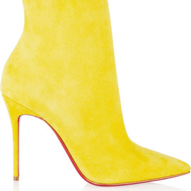 Christian Louboutin - So Kate 100 suede ankle boots