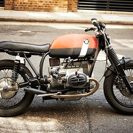 """UNTITLED MOTORCYCLES - BMW R100 RS """"025 TRACKER"""""""