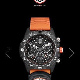 LUMINOX, Bear Grylls - Survival MASTER Series 3749 - Black/Orange