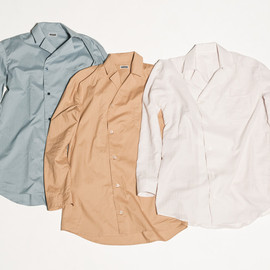 CYDERHOUSE - TAYLOR COLLAR LONG SHIRTS