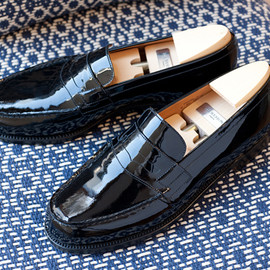 J.M.Weston - 180 loafer patent leather
