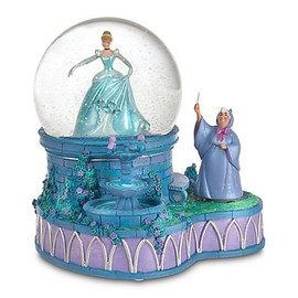 Disney Collectible Classic Cinderella Musical Snow Globe