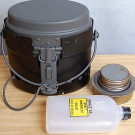 Sweden Army - Mess Kit & sprit Burner Set