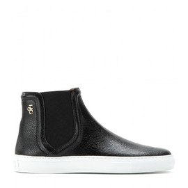 GIVENCHY - LEATHER HIGH-TOPS
