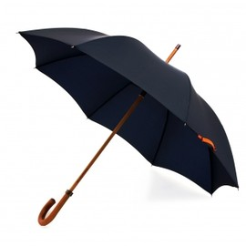 London Undercover - navy city gent lifesaver umbrella