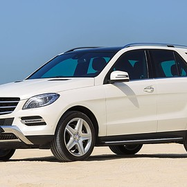 Mercedes-Benz - ML350  Blue TEC