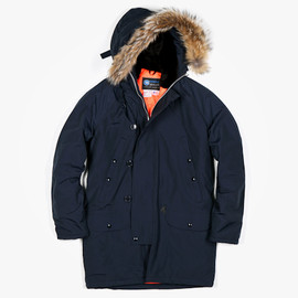 SPIEWAK, FOTT - Куртка Spiewak for FOTT - Amsterdam Snorkel Parka (Navy/Orange)