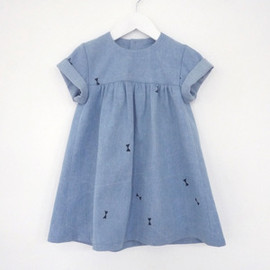 OH MY KIDS - babydoll denim dress