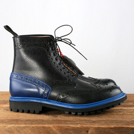 Grenson - x togs and clogs - Fred Brogue Boots with Commando Sole