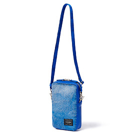 "HEAD PORTER - ""NOMA"" SHOULDER POUCH BLUE"