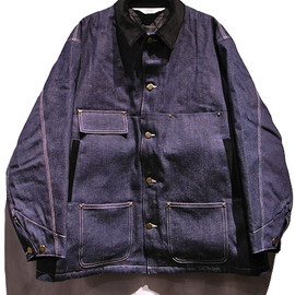 SUNSEA - Coverall jacket