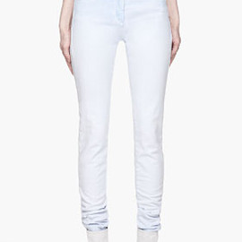 MM6 MAISON MARTIN MARGIELA - Slouchy Skinny Fit Jeans/Blue ombre
