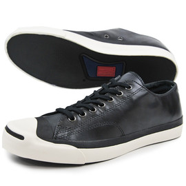CONVERSE - JACK PURCELL WX LEATHER OX BLACK