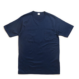 gicipi - 1804P Pocket T Shirt-Blu Navy