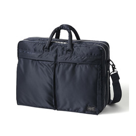 "HEAD PORTER - ""TANKER-STANDARD"" BRIEF CASE NAVY"