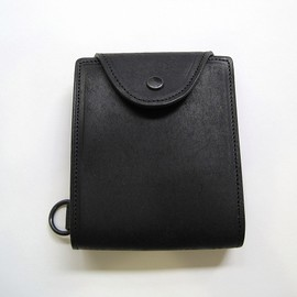 leather poche M 'tape'/cow hide