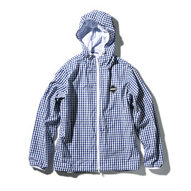 F.C.R.B. - GINGHAM CHECK ZIP UP BLOUSON