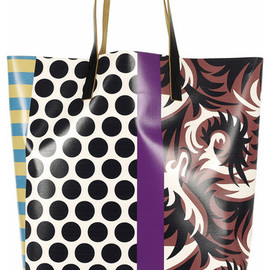 MARNI - multi printed tote bag