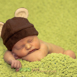 Fleece Hat Pattern for Baby and Children - Cat