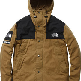 supreme x the north face - the north face x supreme waxed cotton jacket