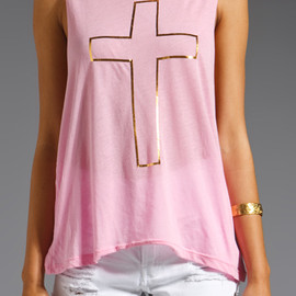 Wildfox Couture - My Heart Cut Off Tank
