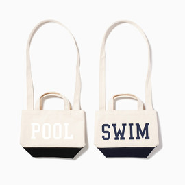 the POOL aoyama - 2WAY HANDLE TOTE BAG SMALL