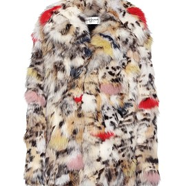 SAINT LAURENT - Fur coat