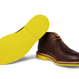 Mark McNairy New Amsterdam - Contrast Sole Chukka