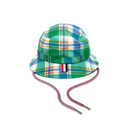THOM BROWNE - Madras Fishermans Hat