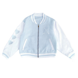 E Hyphen World gallery BonBon - Stadium Jumper Blouson