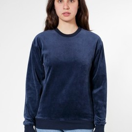 American Apparel - Unisex Velour Drop Shoulder Sweater