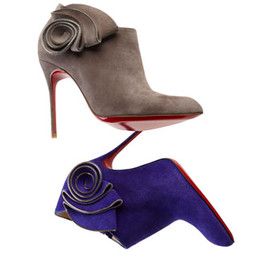 Christian Louboutin - Mrs. Baba Suede Bootie