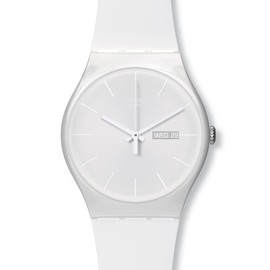 Swatch - New Gent White rebel
