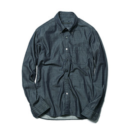 SOPHNET. - GIZA DENIM B.D SHIRT