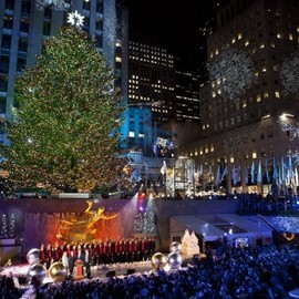 Rockefeller Center, NYC - Christmas Tree
