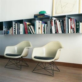 Eames Shell Armchair DAX Black Base