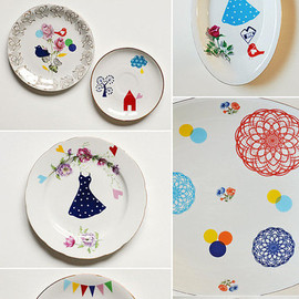 Ninainvorm - Flock of birds platter