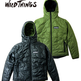 WILD THINGS - HOODED PRIMALOFT JACKET