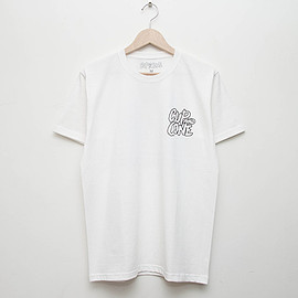 cup and cone - 5th Anniversary Tee - White