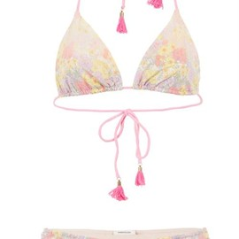 Manoush - Liberty Wild Flower Print Two-Piece Swimming Costume