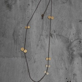 samma sequin and string necklace - samma sequin and string necklace