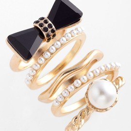 ADIA KIBUR - Rings (Set of 5)