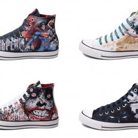 CONVERSE - DC COMICS × CONVERSE ALL STAR HI 5COLORS