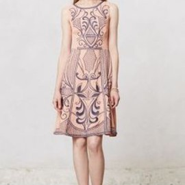 Embroidered Filligree Dress