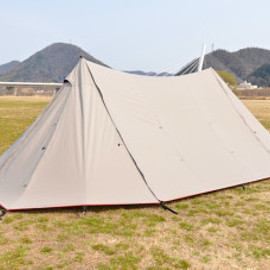 """CAMP MANIA PRODUCTS - """"PRECIOUS"""" twin pole shelter"""
