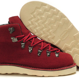 Danner - Mountain Light suede Red