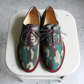 YMC  - Camo Officer Shoe