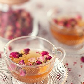 Chamomile, Roses and Lavender Tea