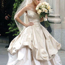 Vivienne Westwood SATC wedding dress short